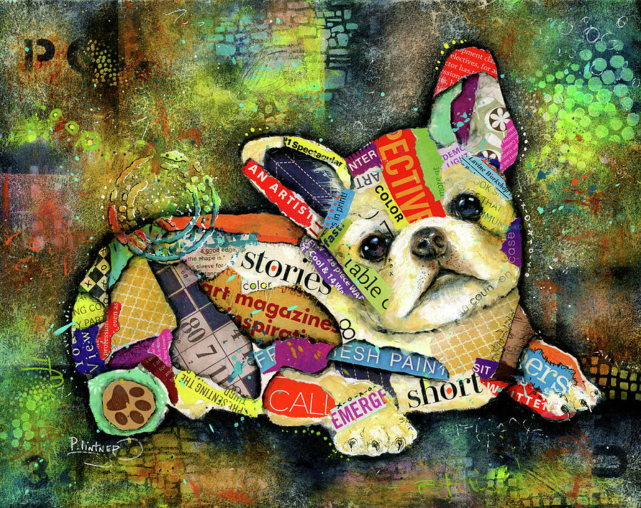 French Bulldog by Patricia Lintner