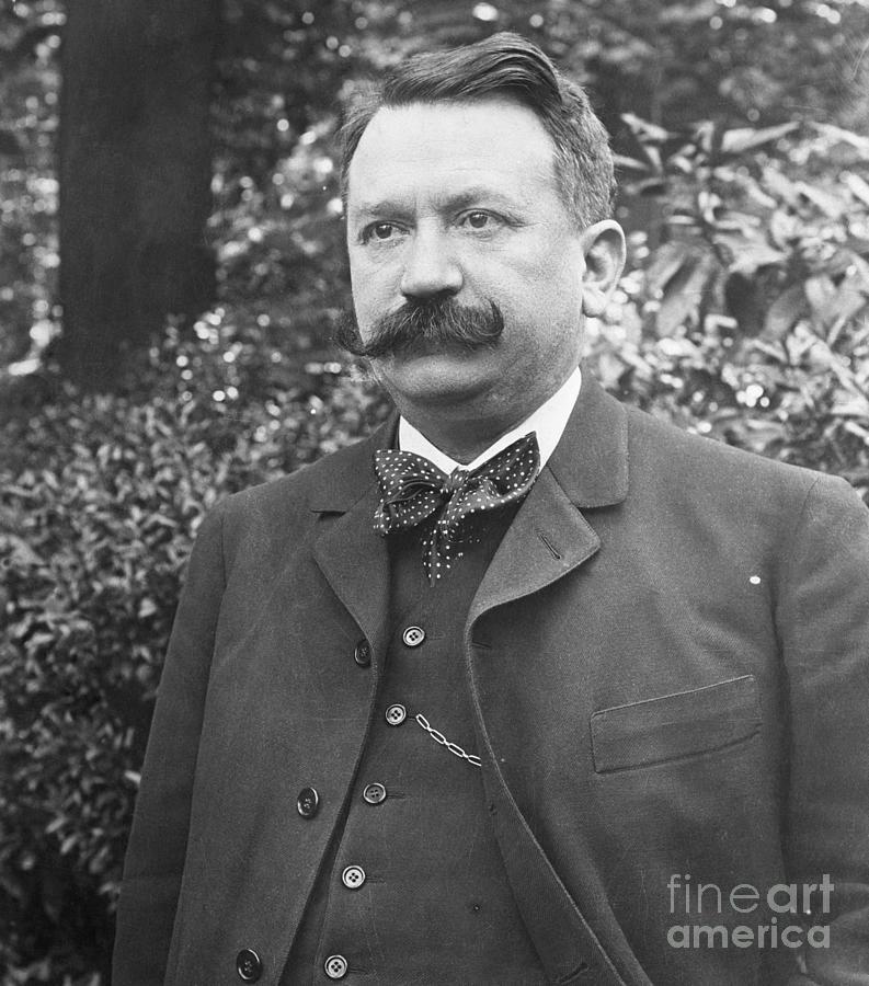 French Delegate Gaston Doumergue Photograph by Bettmann