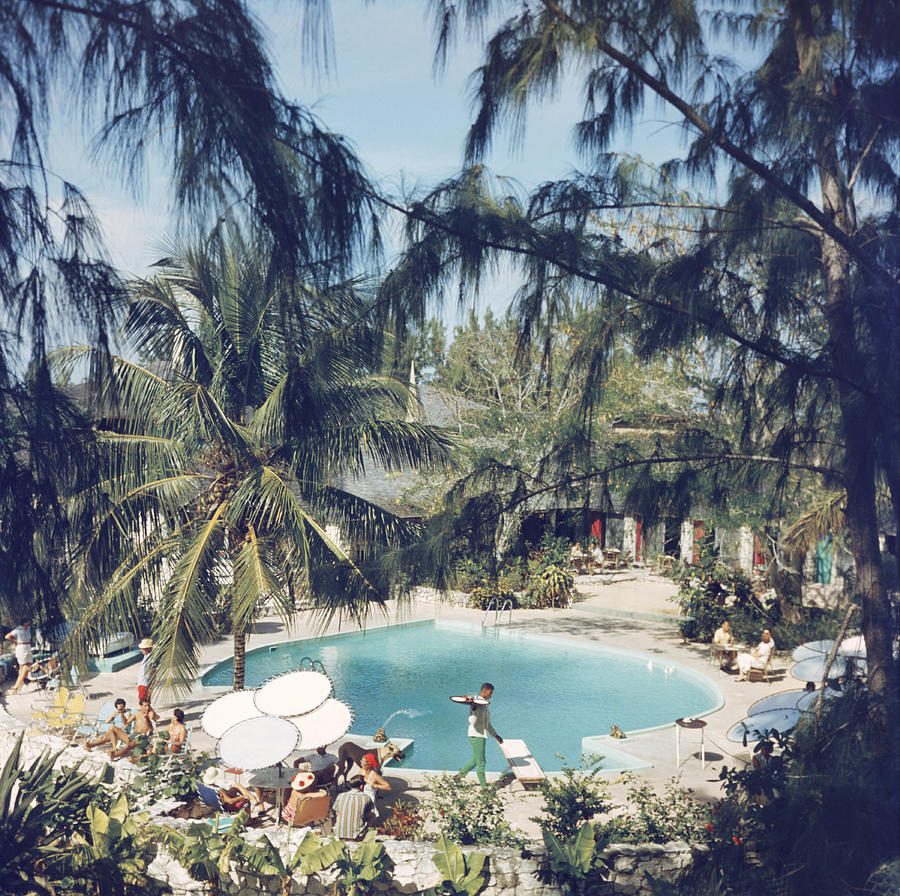 French Leave Hotel Photograph by Slim Aarons