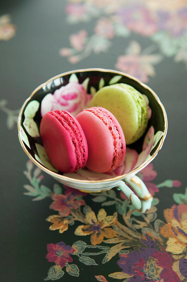 French Macaron Photograph by Iain Bagwell