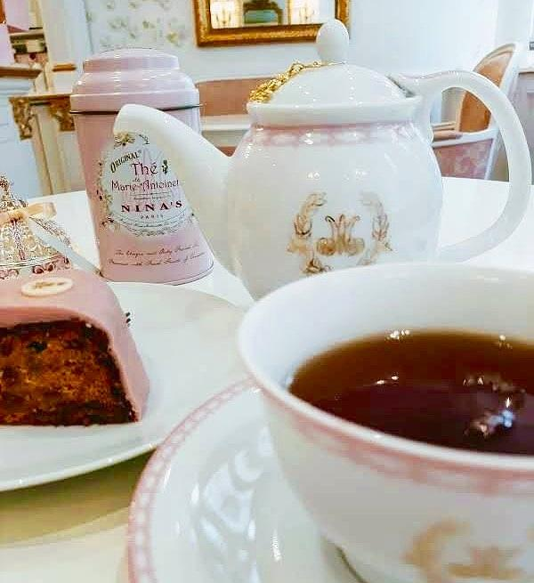 French Pink Tea Photograph