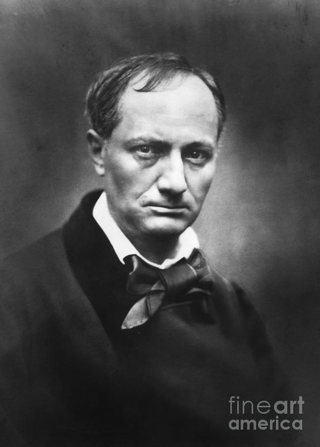 French Poet Charles Baudelaire Photograph by Bettmann