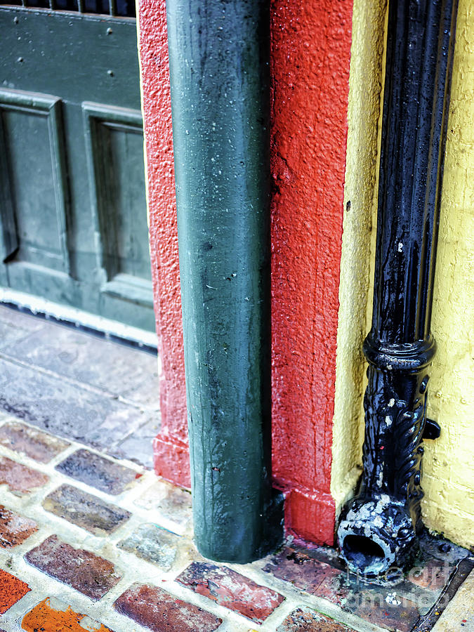 French Quarter Street Colors in New Orleans by John Rizzuto