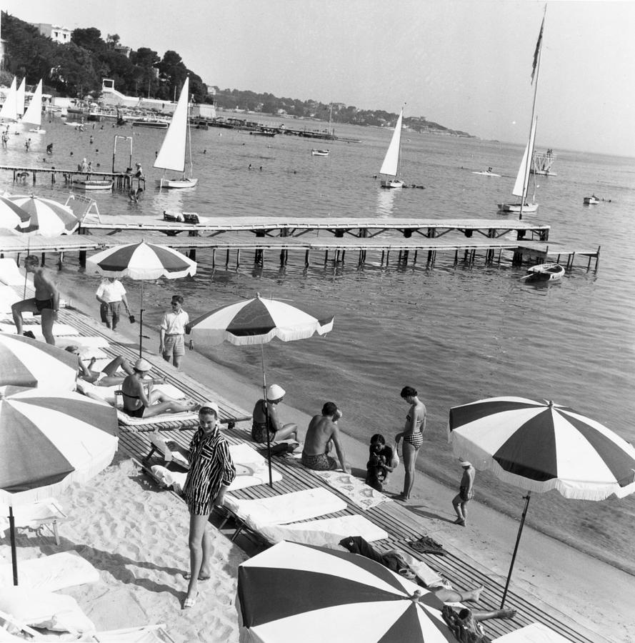 French Riviera Photograph by Bert Hardy
