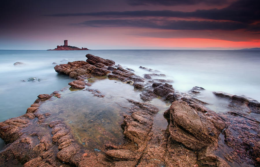 French Riviera Photograph by Eric Rousset