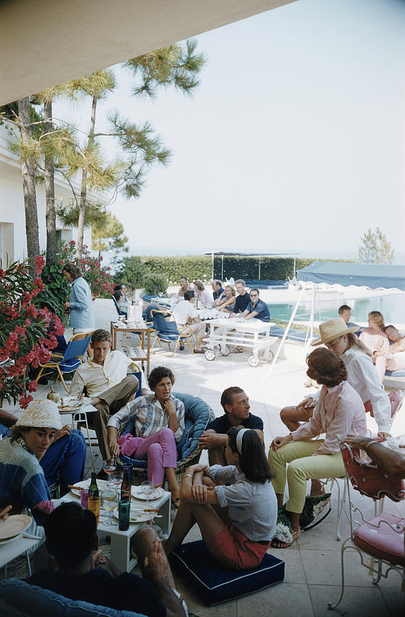French Riviera Photograph by Slim Aarons