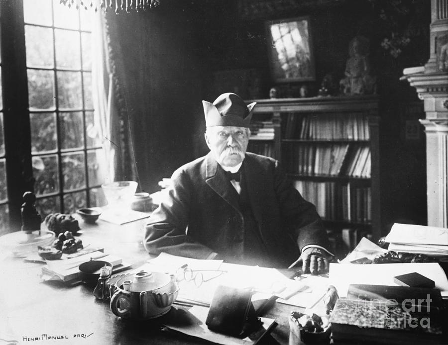 French Statesman Georges Clemenceau Photograph by Bettmann