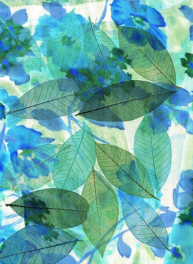 Fresh Blue Green by Nareeta Martin