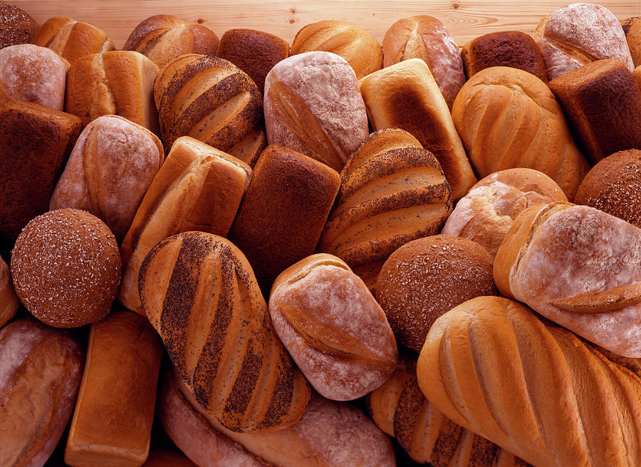 Fresh Bread Loaves Photograph by Terry Mccormick