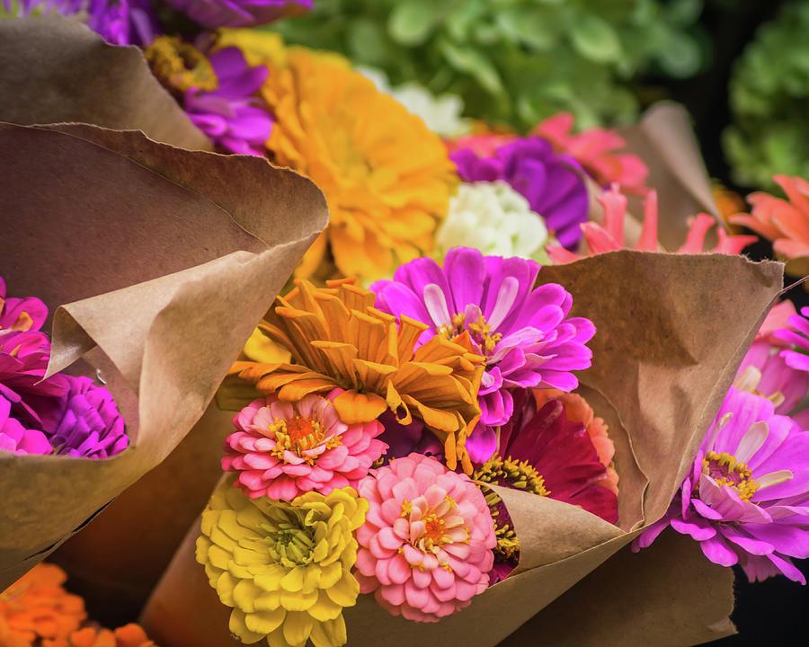 Fresh Flowers by Christy Schneller