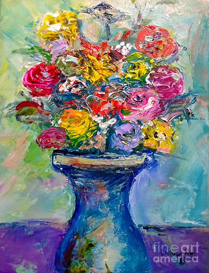 Fresh Flowers by Deborah Nell