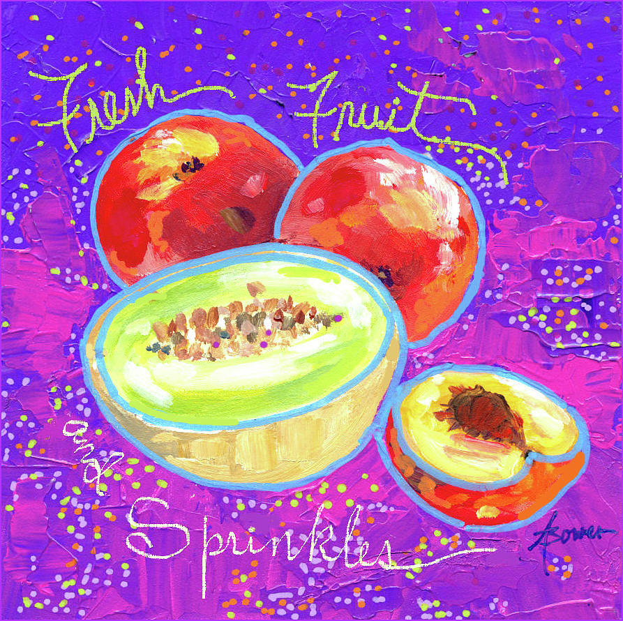 Fresh Fruit and Sprinkles  by Adele Bower