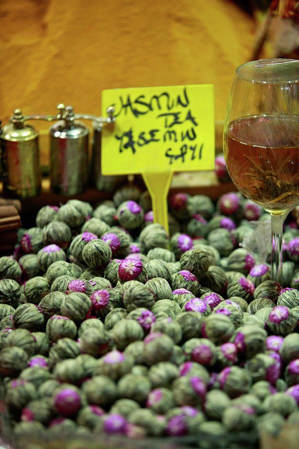 Fresh Jasmine Tea For Sale Photograph by Www.ingetjetadros.com ©ingetje Tadros