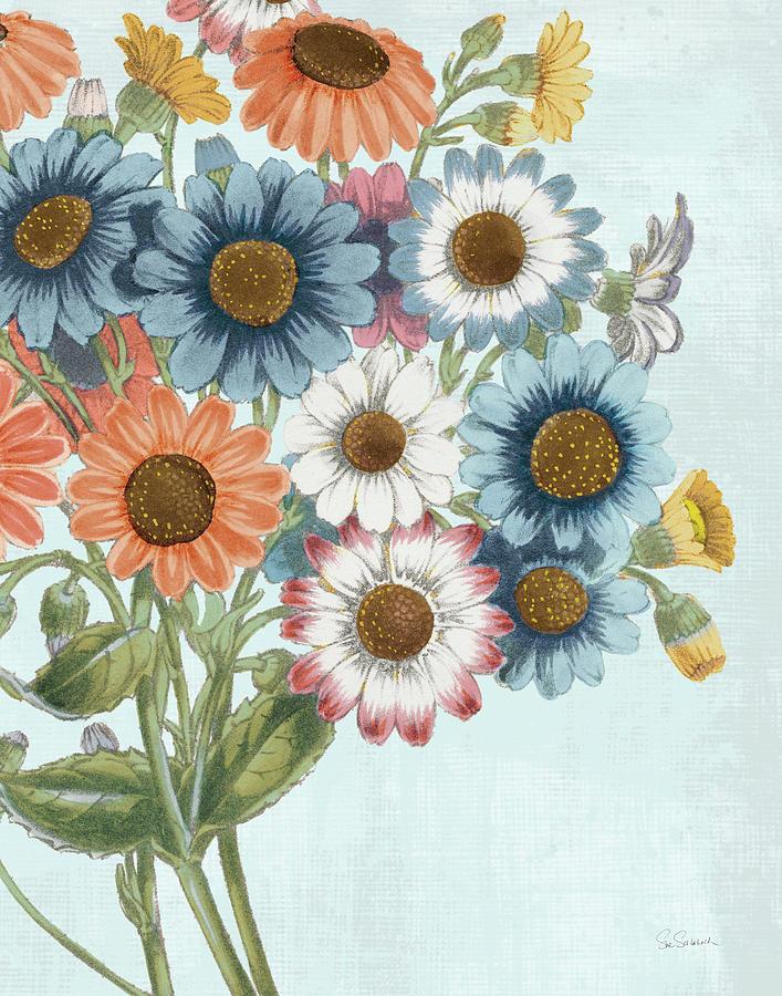 Aqua Painting - Fresh Midsummer II by Sue Schlabach