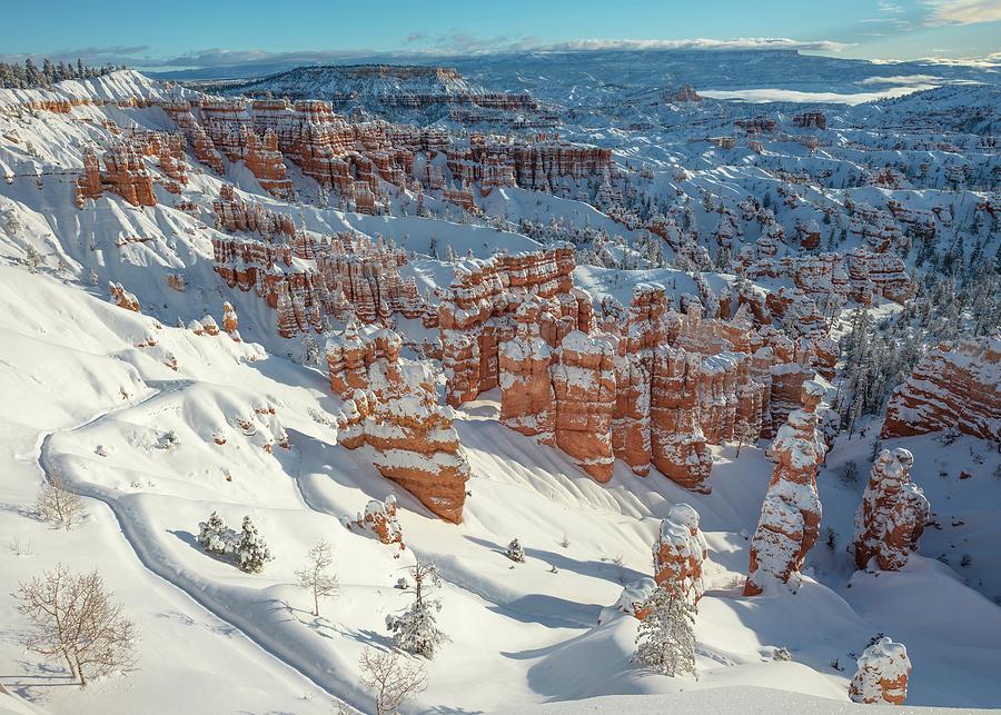 Fresh Snow - Bryce Canyon Photograph
