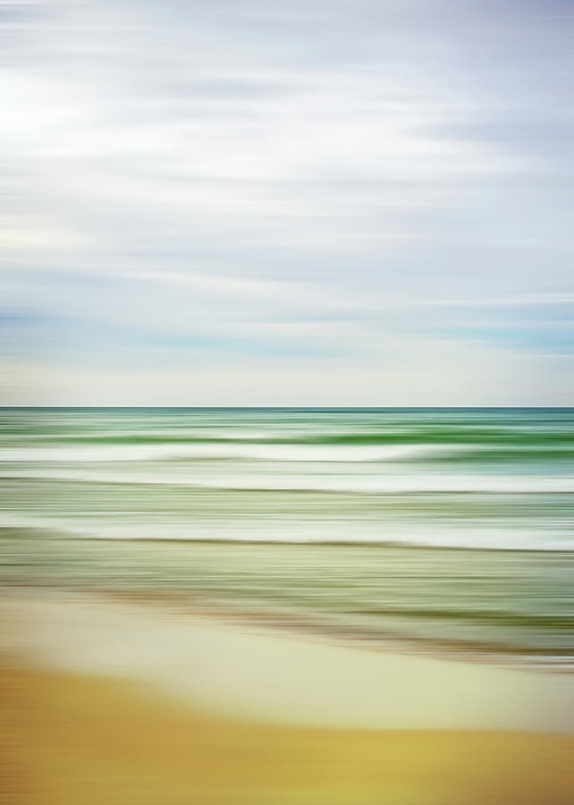 Fresh Water Abstract by Kathi Mirto
