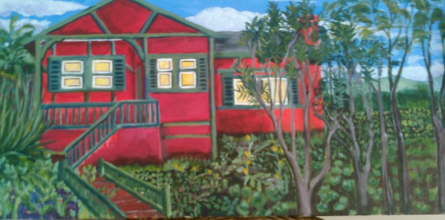Landscape Painting - Fresh yard by Andrew Johnson