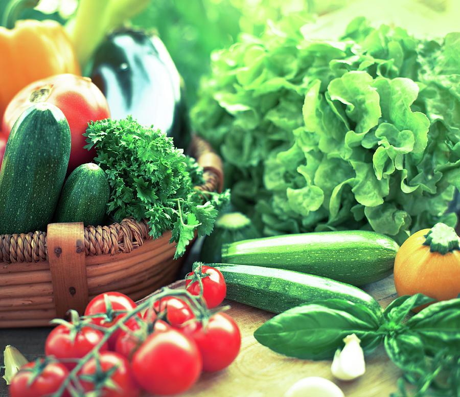 Freshness Vegetables Photograph by Jasmina007