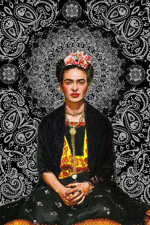 Frida Kahlo 4 by Tony Rubino