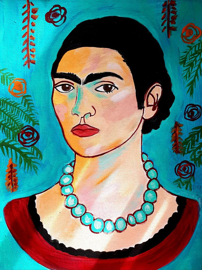 Frida Kahlo by Nikki Dalton
