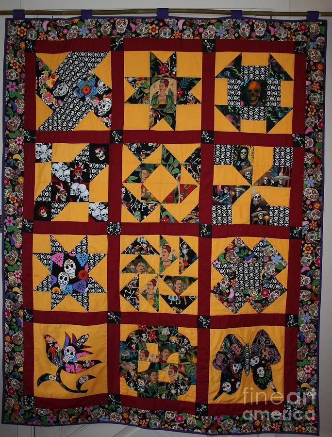Frida Quilt by Cynthia Marcopulos