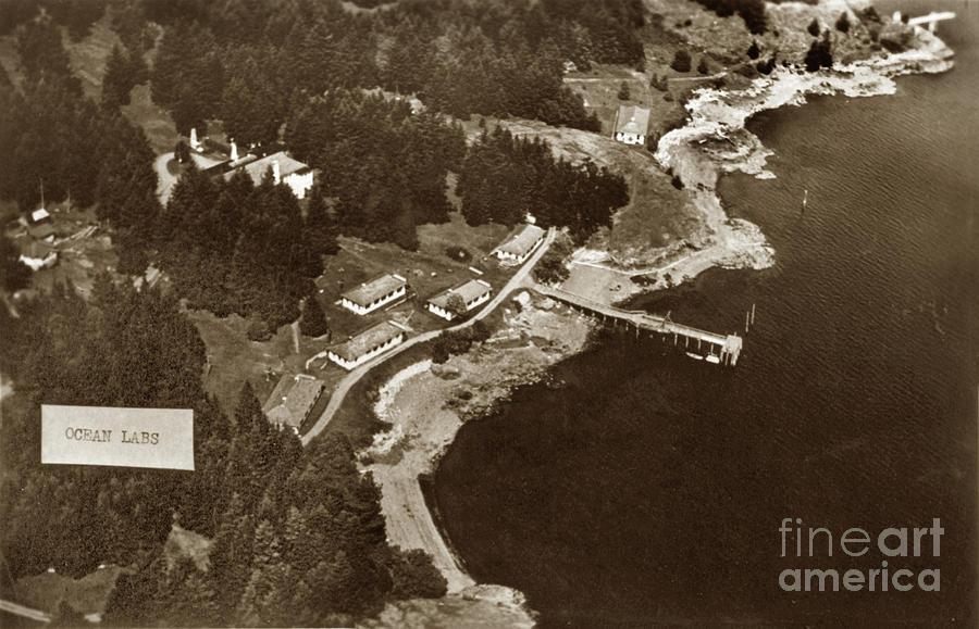 Friday Harbor Laboratories San Juan Island by California Views Archives Mr Pat Hathaway Archives