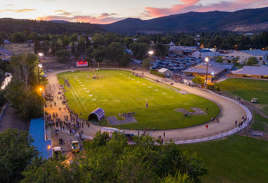 Friday Night Lights at Arnold Field by The Couso Collection