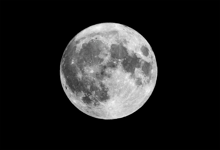 Friday The 13th Harvest Full Moon by Ricky L Jones