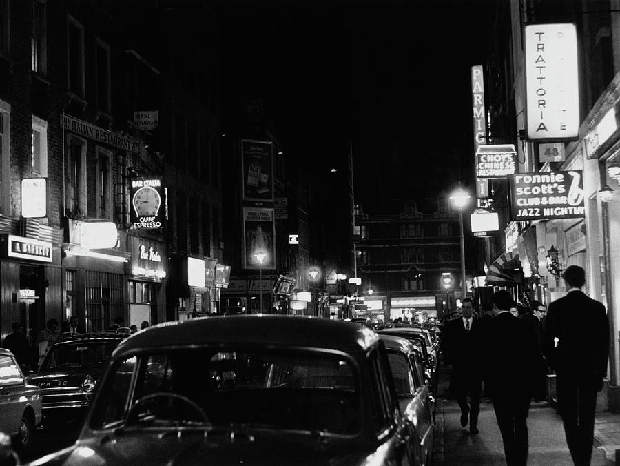 Frith Street By Night Photograph by Ray Roberts