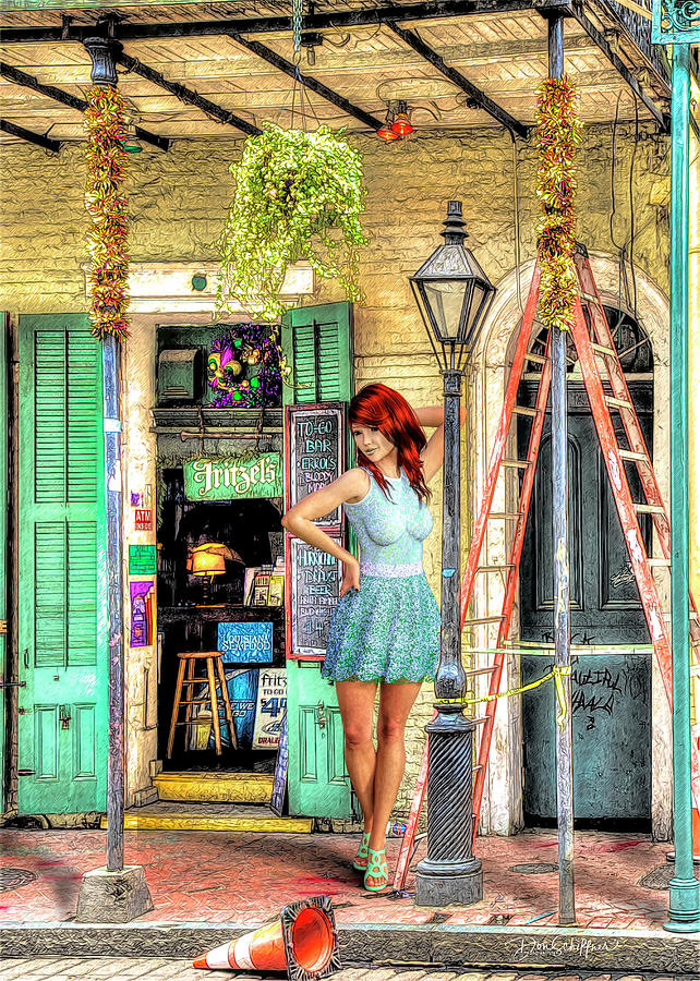 Fritzel's In The Quarter by Don Schiffner
