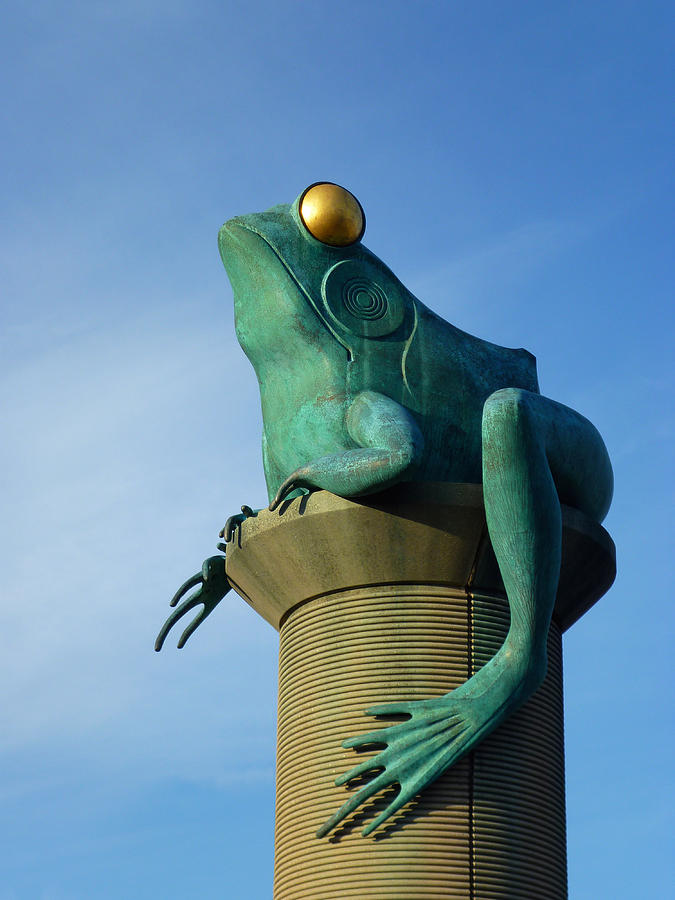 Frog Bridge Willimantic Connecticut by Toni Leland