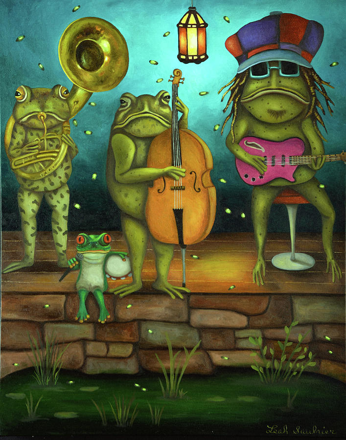 Frog Music by Leah Saulnier The Painting Maniac