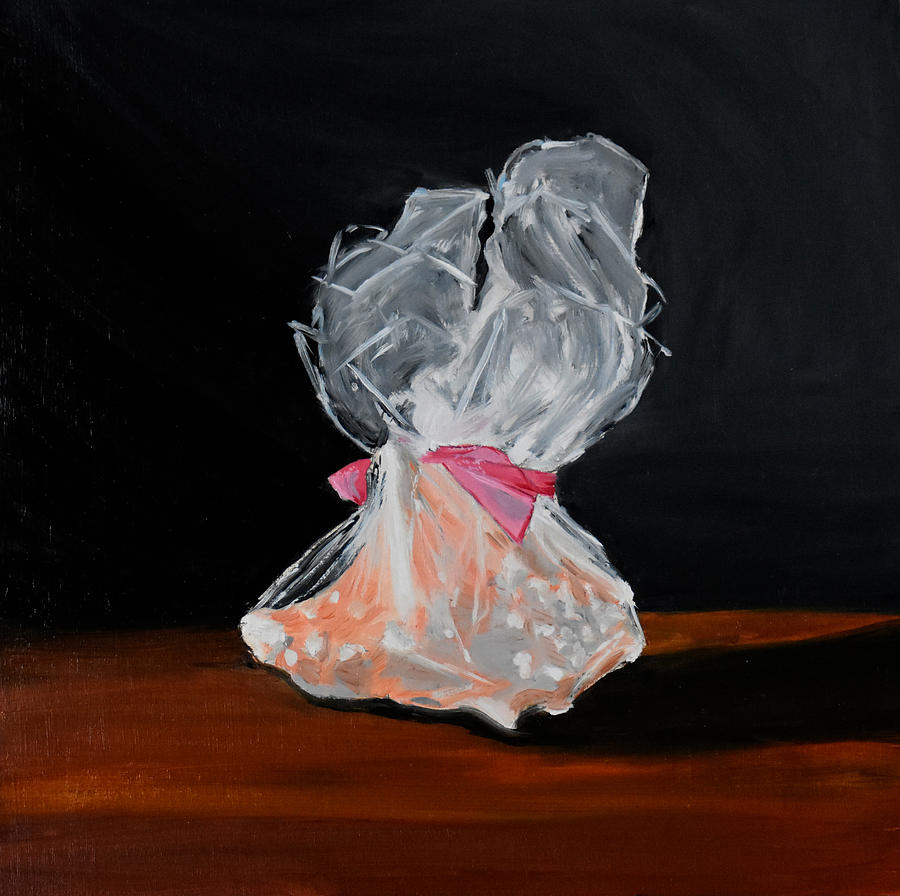 Conch Shell Painting - From Plastic To Plastic by Emily Warren