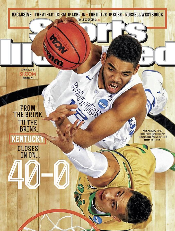 From The Brink. To The Brink. Kentucky Closes In On Sports Illustrated Cover Photograph by Sports Illustrated
