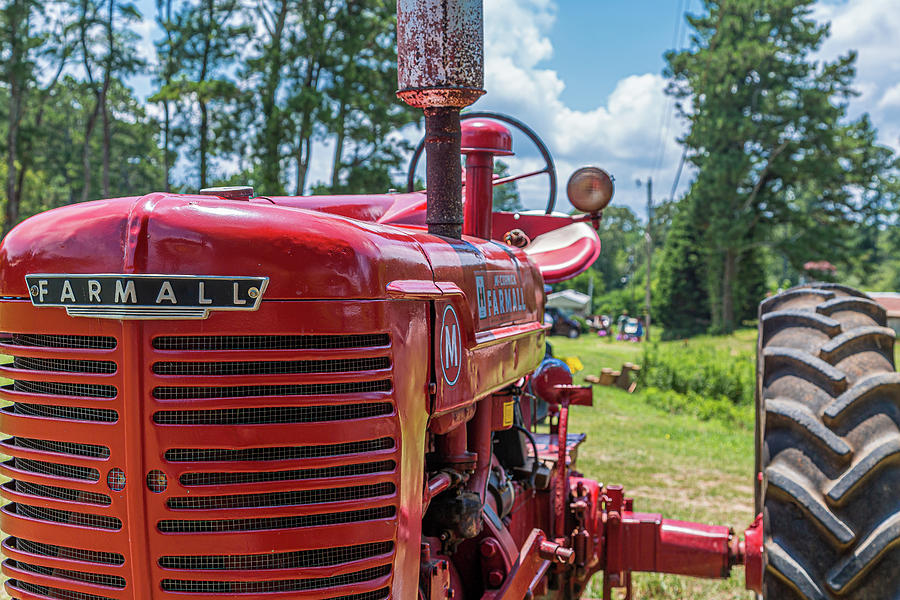 Front of Farmall Tractor by Darryl Brooks