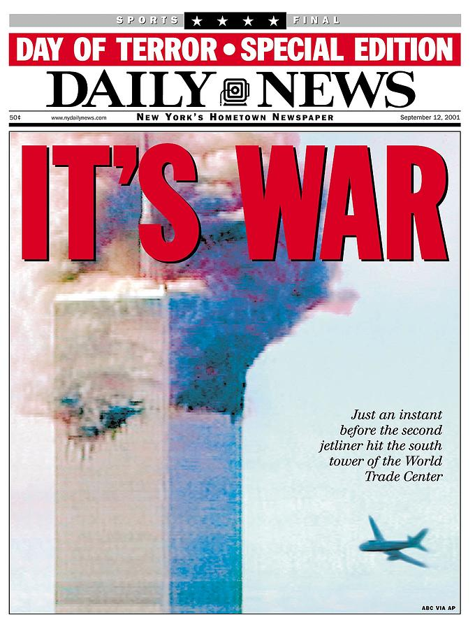 Front Page Of The Daily News Dated Photograph by New York Daily News Archive