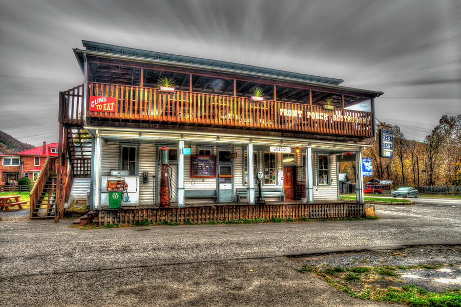 Front Porch restaurant near Seneca Rocks by Dan Friend