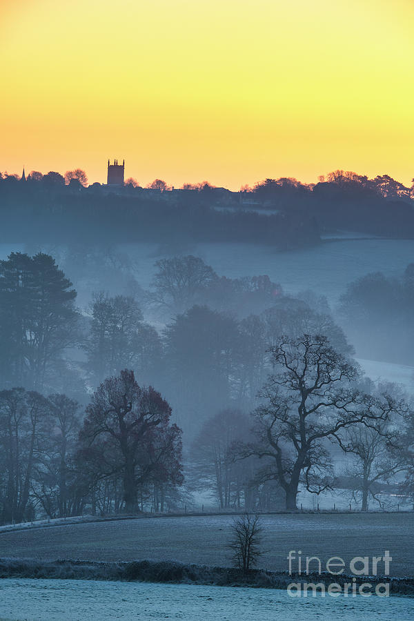 Frost on the Wold by Tim Gainey