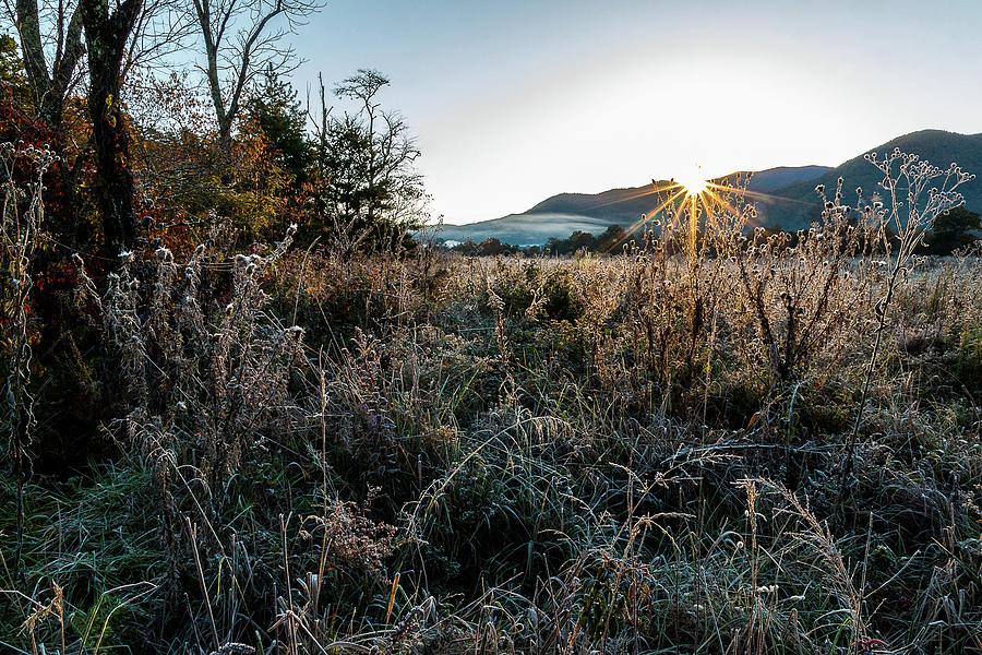 Frosty Sunrise by Douglas Tate