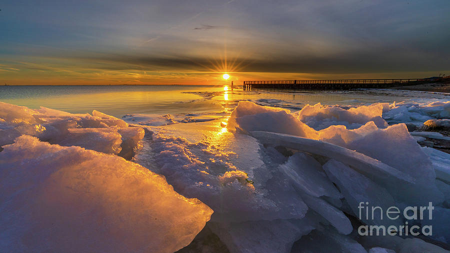 Frosty Sunset by Sean Mills