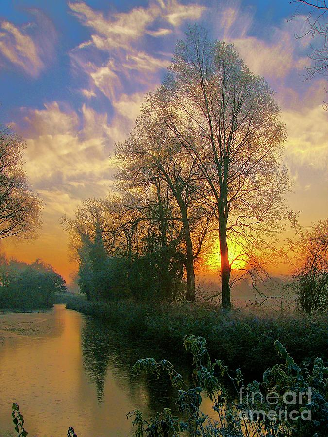 Frosty Winter Sunrise by Martyn Arnold