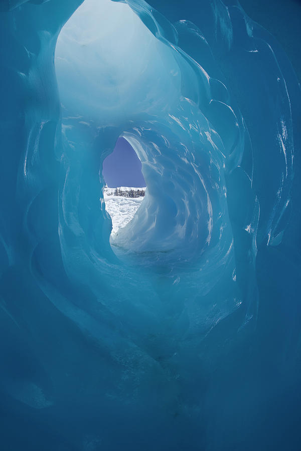 Frozen And Cold Tunnel Photograph by Martin Harvey