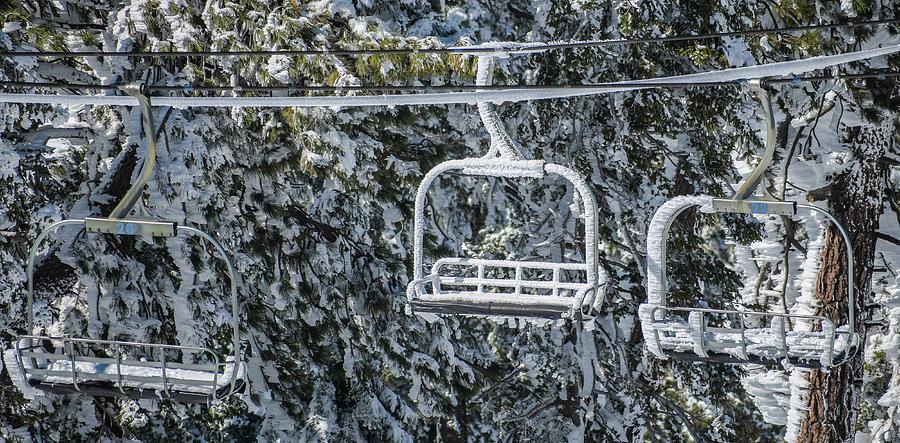 Frozen Chair Lift by Richard Cheski