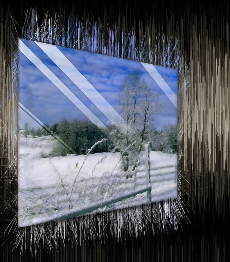 Frozen Landscape by Mario Carini