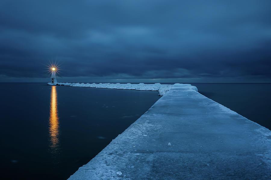Frozen Path Photograph by John Fan Photography