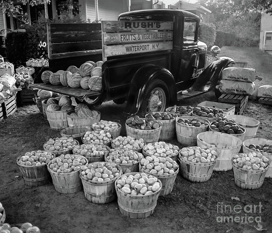 Fruit and Vegetable Truck by Tom Brickhouse