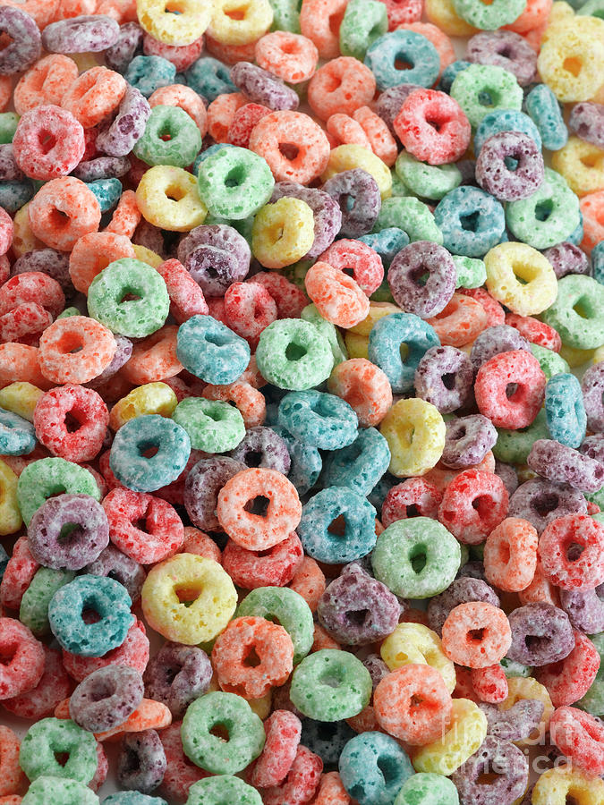 Fruit Cereal Photograph by Adshooter