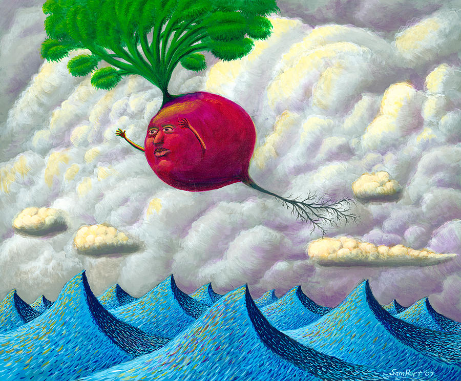 Seascape Painting - Fruit Of The Earth by Sam Hurt