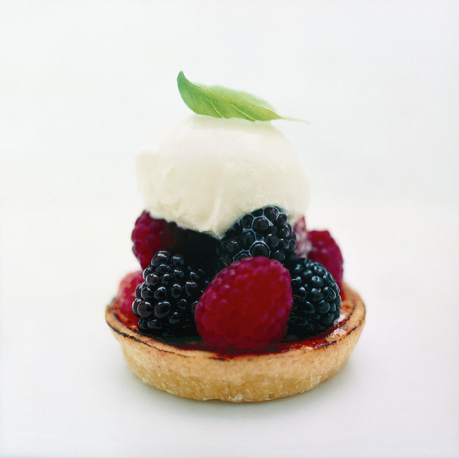 Fruit Tart Photograph by Johner