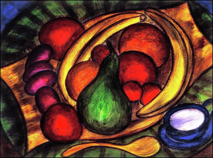 Fruits Painting - Fruits by Hugo Heikenwaelder